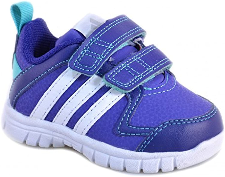 Adidas - Adidas Sta Fluid 3 CF I Scarpe Bambina Viola Pelle Strappi M25492 - Violeta, Intel Core 2 Duo para 1,8...