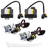 Sunix® Xenon Hid Kit de Conversion 55W Slim Ballast à faisceau Unique et Bi-xénon Options H7 9004 6000K