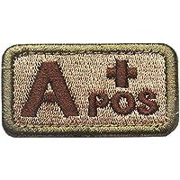 GGG Militäraufnäher mit Blutgruppe AB-Positiv, Stickerei
