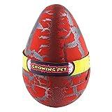 Super Size Color Crack Dinosaur Dragon Hatch & Grow Eggs, Red