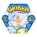 The Amazing WUBBLE Bubble Ball - Looks like a bubble, plays like a ball! Blue