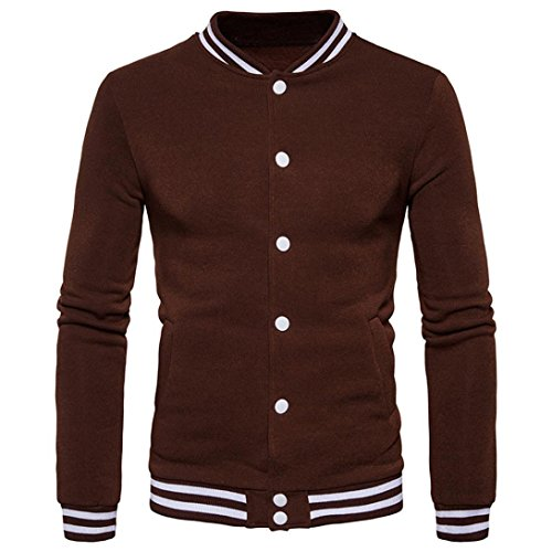 Winterpullover Strickwaren VENMO Neue Fashion Jacket Warm Wintermantel Slim Overcoat Kleider Herren Bomberjacke Winter College Männer Übergangsjacke Bomber Pilotenjacke Baseballjacken