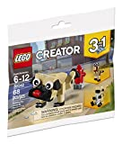 LEGO 30542 Creator 3 in 1 Niedlicher Mops, Cute Pug Polybag
