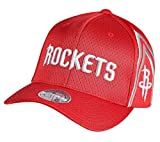 Mitchell & Ness 110 City Series Houston Rockets - Gorra, Color Rojo