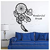 jiuyaomai Spezielle Dreamcatcher Wandaufkleber Art Design Schöne Wandbild Home Living Room Decor...