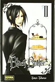 BLACK BUTLER 02 par Yana Toboso