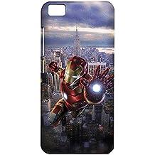 Fancy Interio Printed Back Case Cover For Xiaomi Mi5 / Mi 5 - Iron Man Fighting.