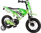 Kinderfahrrad Volare Motobike 12 Zoll grün mit...