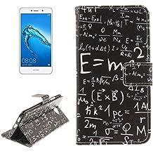 jialun Teléfono protector para Huawei Huawei Y7Mass patrón horizontal FLIP piel con soporte & Tarjeta SIM Fácil Mode