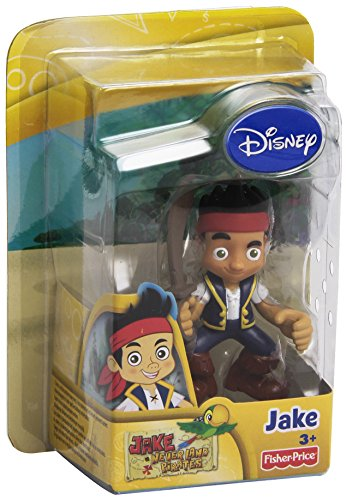 Fisher Price Disney'S Captain Jake and The Neverland Pirates - Jake Figures-Jake (X8167)