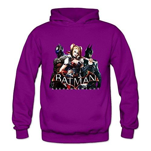 Buluew Damen Anime Joker und Harley Quinn Batman Hoodies Sweatshirt Größe US Weiß