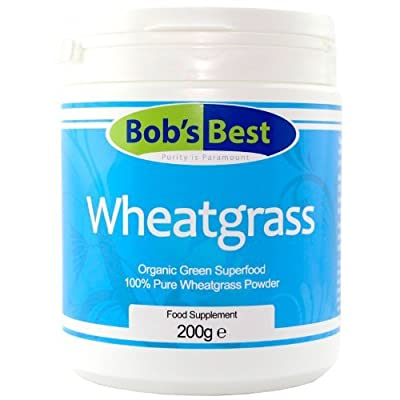 Wheatgrass 200g - Organic from Bob's Best