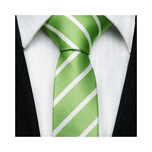 tns-green-white-thin-skinny-tie-neckties