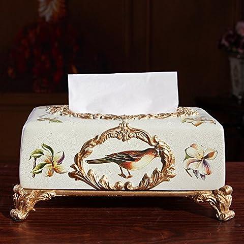Continental ceramica vassoio di aspirazione scatola di carta