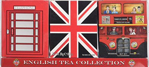 New English Teas Heritage Range English Tea Collection Carton Set (Pack of 1, Total 30 Teabags)