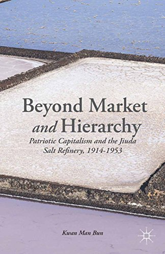 Beyond Market and Hierarchy: Patriotic Capitalism and the Jiuda Salt Refinery, 1914-1953 (English Edition) (Network China Food)