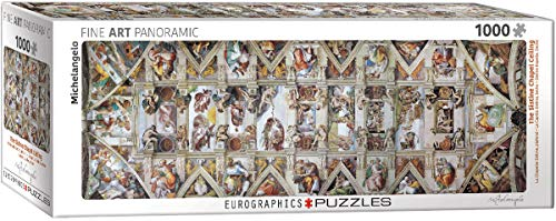 EuroGraphics 6010-0960Sixtinische Kapelle von Michelangelo Puzzle (1000Teile)