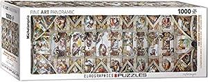 Eurographics 6010-0960 Michelangelo Puzzle Sistine Chapel - Puzzle (1000 Piezas)