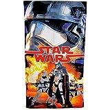 Disney Star Wars - Toalla de algodón para playa de Star Wars para niños (140cm