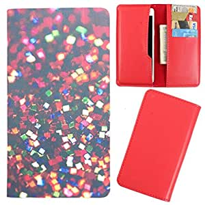 DooDa - For Micromax Unite A092 PU Leather Designer Fashionable Fancy Case Cover Pouch With Card & Cash Slots & Smooth Inner Velvet