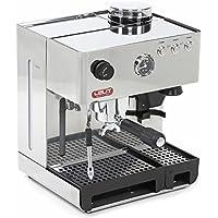 Lelit PL42EMI Kaffee- / Espressomaschine mit eingebauter Kaffeemühle und Hintergrundbeleuchtung und Druckmesser