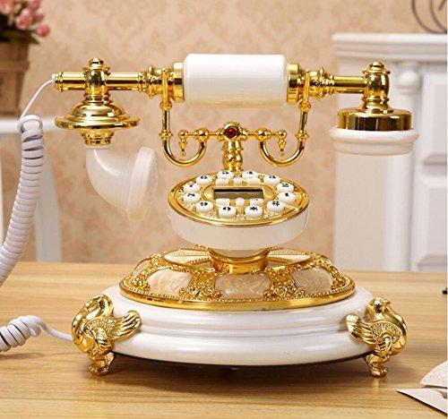Antique continental vecchio telefono - stile retrò pastorale fissa dimora - linea telefonica ( colore : c. )