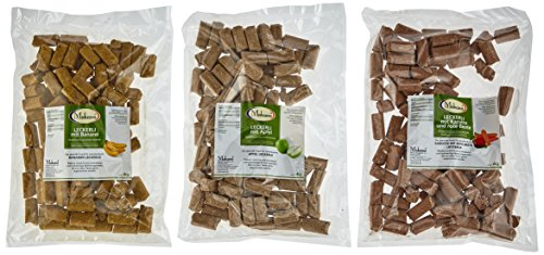 Makana Leckerlie 3er-Set: Apfel, Banane, Karotte / Snack für Pferde, (3 x 1 kg Vorteilspack)