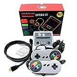 Mini console de jeu vidéo rétro TV HDMI 8 bits Intégré 621 Jeux classiques Ordinateur de poche Enfants cadeaux de Noël