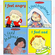 Brian Moses Your Emotions 4 Books Collection Set - I Feel Angry,I Feel Sad,I Feel Jealous,I Feel Frightened