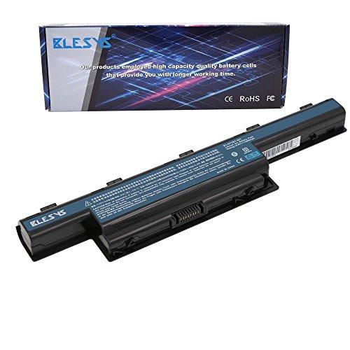 BLESYS - 5200mAh/6Cellule Sostituzione della batteria Acer Aspire 4551G 4741 4771G 5336 5551 5736Z 5741 5742 5742G 7741G