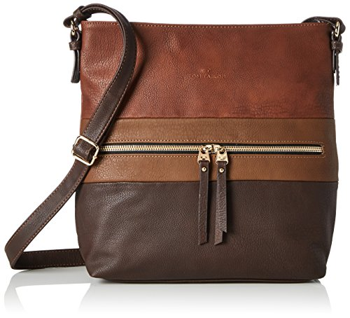 Tom Tailor Acc Marit, Women's Cross-Body Bag, Braun, 8 x 30 31...