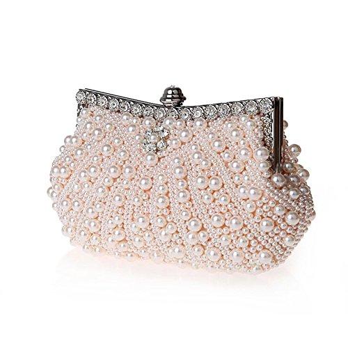 perline/Strass borsa/ borsa da sera moda/Borsa a mano donna-B