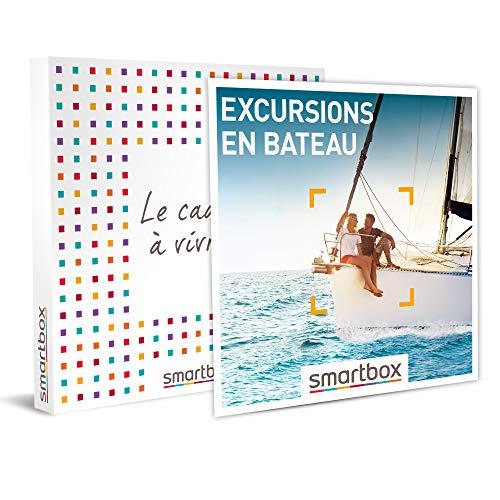 SMARTBOX - Coffret cadeau - Excursions en bateau - idée cadeau - 1 balade en bateau...