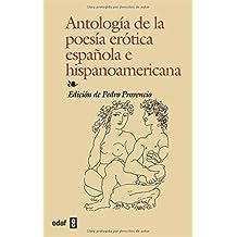 Antologia De La Poesia Erotica (Biblioteca Edaf)