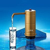 Aliciashouse Pompa dell'acqua elettrica distributore automatico dell'acqua in bottiglia acqua elettrico di pompaggio - oro