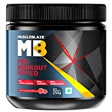 MuscleBlaze Pre-Workout Ripped-250g- Raspberry Lemonade Flavour