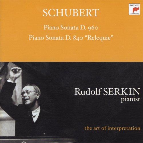 Schubert: Piano Sonata, D. 960...