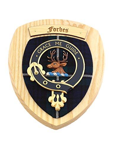 forbes-clan-crest-plaque-murale-bois-clair-woodem-mur-plaques-clan-tartan
