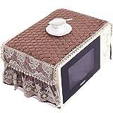 Exquisite Four à micro-ondes antipoussière Cover Protector -Café