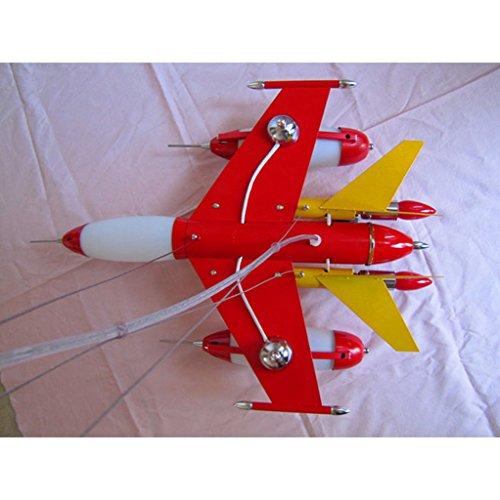 Die Erntesaison Rote Kind-Flugzeug-Lichter-Jungen-Schlafzimmer-Lichter -E14 Lampe * 5 - 4