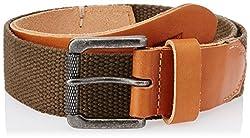Levis FW 14 Olive Leather Mens Belt (19183-0002)