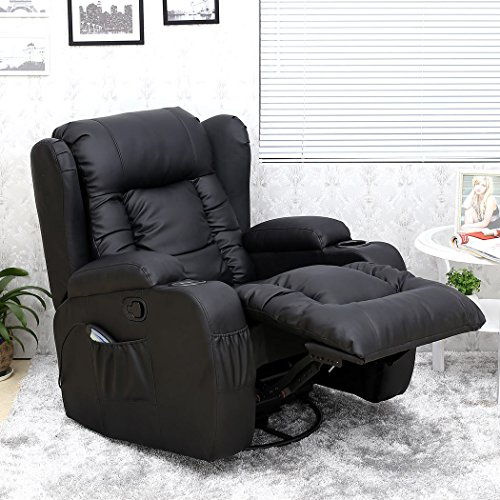 More4homes Tm Caesar 10 In 1 Winged Recliner Chair