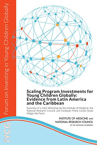 Scaling Program Investments for Young Children Globally: Evidence from Latin America and the Caribbean: Summary of a Joint Workshop by the Institute of ... Maria Cecilia Souto Vidigal, Sao Paolo