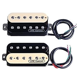 ascendas HZ5Electric Guitar Humbucker Pickup für Gibson Les Paul Ersatz (Hals & Steg)