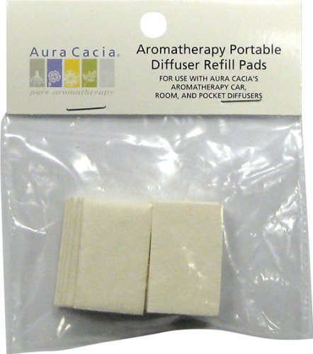 Aromatherapy Diffuser Refill-Pads 10 Refill Pads - Aura Cacia - Anzahl 1 (Anzahl Pad)