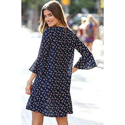 Vestido Estampado - by Venca Style