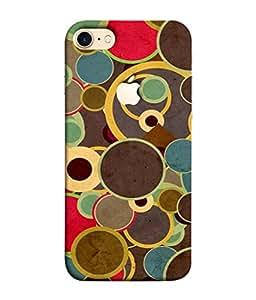 PrintVisa Designer Back Case Cover for Apple iPhone 7 (Logo View Window Case) (cute design looks lovely on mobile covers)
