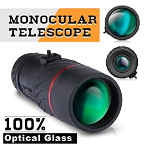 Visionking® Large Lens 8X42 Monocular Telescope for bird watching, travel, hiking, camping and sightseeing, Tourism, Large-scale Concerts, Football Matches, Race Track, Shooting Hunting etc