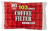 Auf wei? 100 Blatt Carita Kaffeefilter 103 Filterpapier (Japan-Import)
