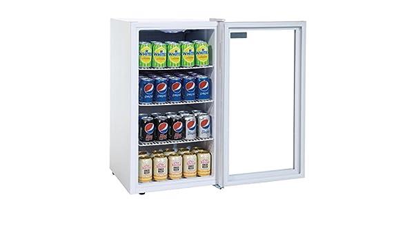 Minibar Kühlschrank Glastür : Mini flaschenkühlschrank tischgerät getränkekühlschrank ideal für